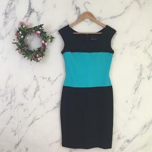 Cynthia Rowley Colorblock Sheath Dress